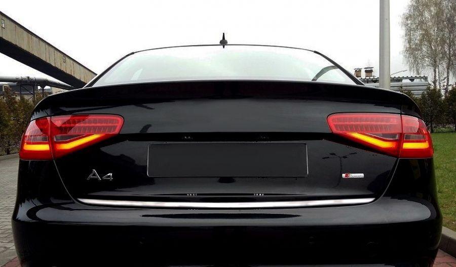 Listwa Na Rant Klapy Bagażnika Audi A4 B8 Chromowane Akcesoria